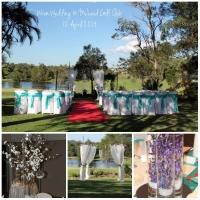 collage - wren wedding