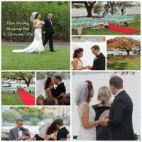 collage - klein wedding