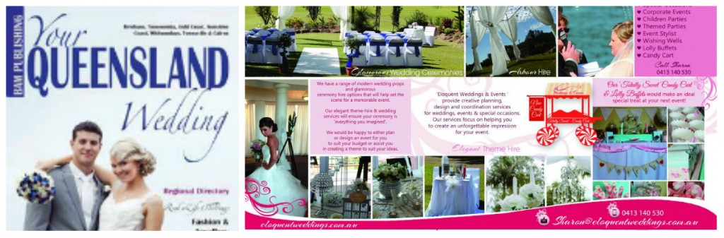 Eloquent Weddings Featured in YQW Magazine