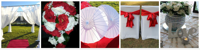 Red & White Theme