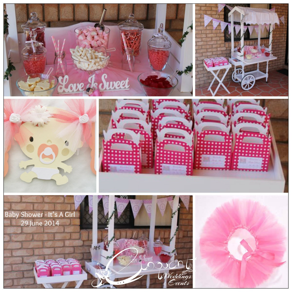 diy candybuffet table baby sweets nursery candy project projects shower buffet