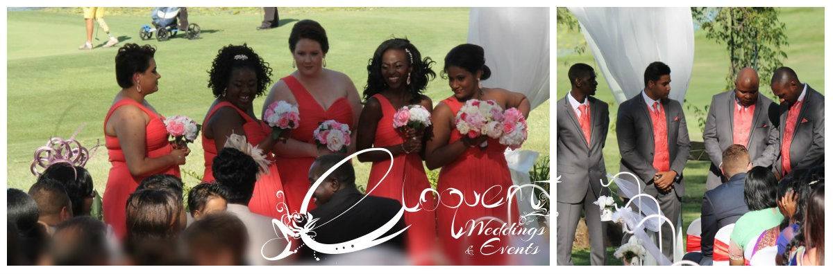 3 collage - bridal party